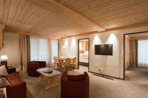 Suite in Hotel Bernerhof in Gstaad