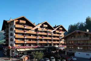 Hotel Bernerhof Gstaad in summer