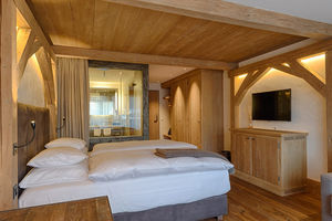 Hotel room in Bernerhof Gstaad